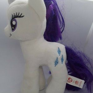 "TY Rarity My Little Pony 2014 Hasbro 8"" Tall 5"""